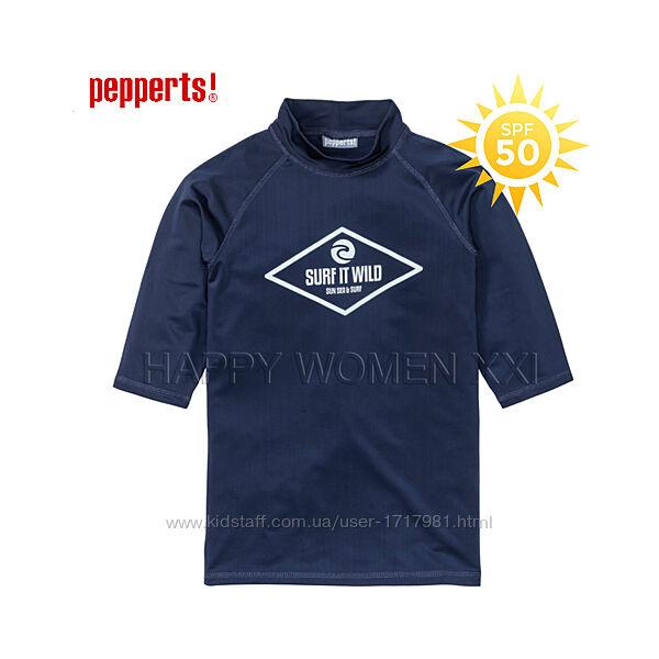 Солнцезащитная пляжная футболка 6-8 лет Pepperts море пляжный отдых мальчик