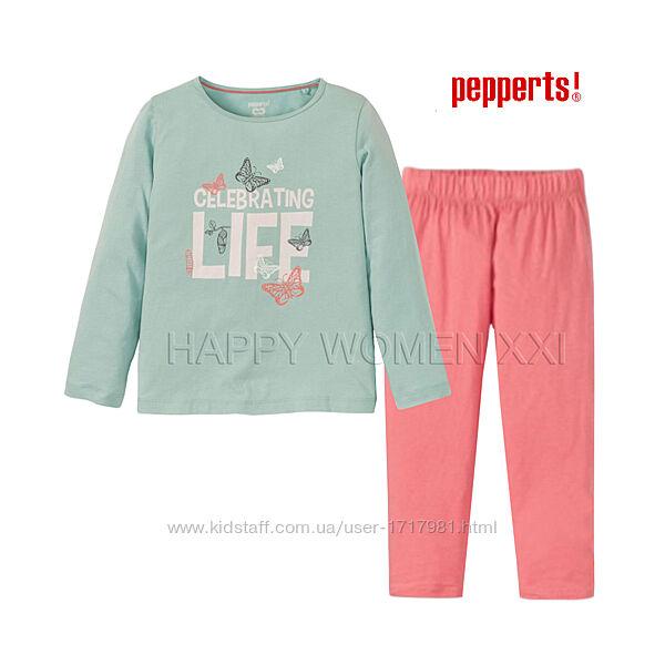 Пижама для девочки 6-8 лет Pepperts лонгслив штаны реглан піжама дівчинка
