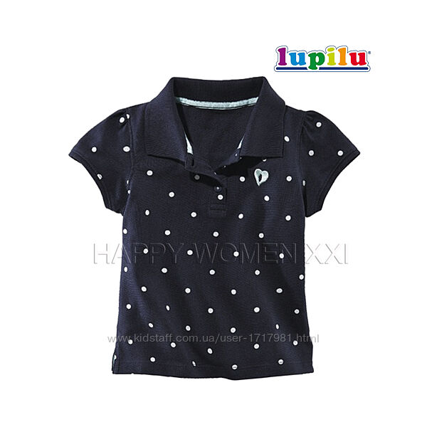 Футболка поло для девочки 1-2 года тенниска рубашка детская дитяча