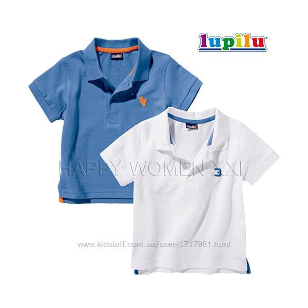 Набор футболок поло для мальчика 1-2 года тенниска рубашка футболка детская