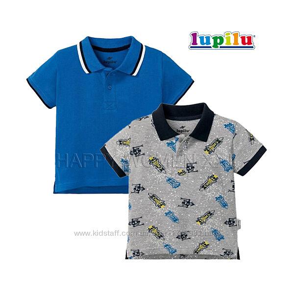 Набор футболок поло для мальчика 4-6 лет тенниска рубашка футболка детская