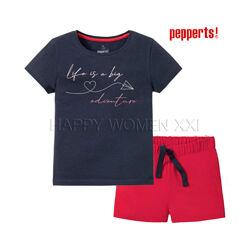 Летняя пижама для девочки 6-10 лет детская футболка шорты піжама дитяча