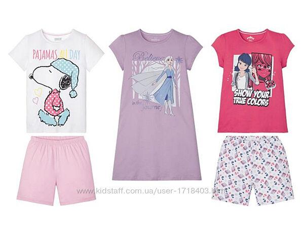 Пижамы домашние костюмы ночные рубашки для девочек