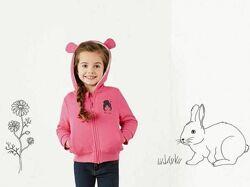 Кофта меховушка для девочек lupilu  размер 110-116