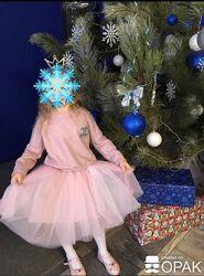 Нарядный комплект пышная юбка и свитер