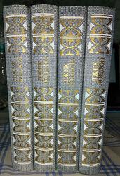 Собрание сочинений Джека Лондона в 4 томах на русском языке