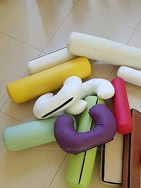 Массажный валик, полувалик, подушка для массажа, подкова, бублик