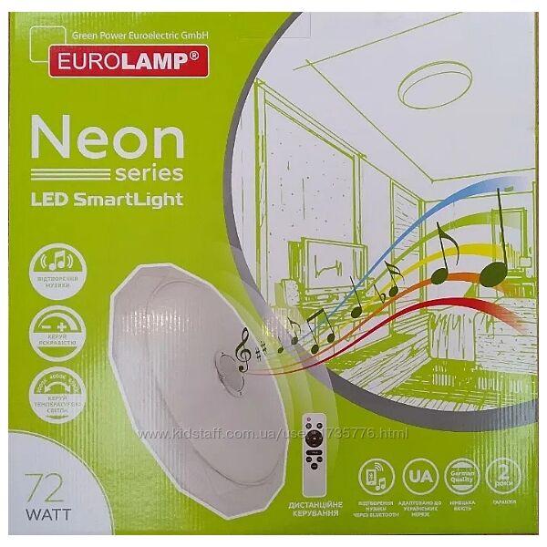Цветной LED светильник Eurolamp Smart Light Neon RGB 72W музыкальный
