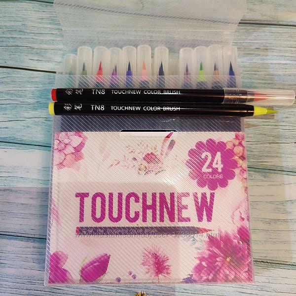 Акварельные маркеры Touchnew 24 шт маркер - кисточка Touchfive Touch