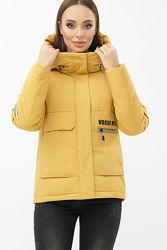 Куртка женская зимняя теплая короткая размеры 44-50