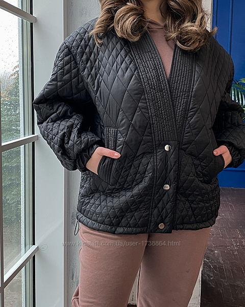 Куртка женская легкая демисезонная размеры 42-56