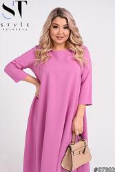 Платье женское свободного кроя размеры 46-60