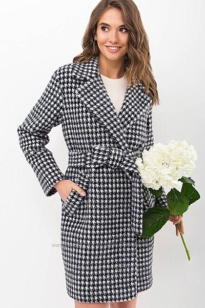 Пальто женское стильное демисезонное размеры 40,42,44