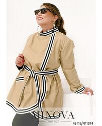 Куртка женская из эко-кожи размеры 52-66