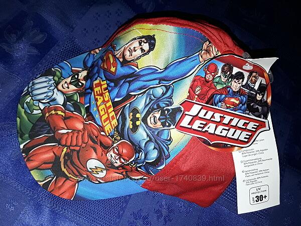 Крутая бейсболка Justice League на 6-14 лет, классная кепка для мальчика.