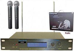 Радиосистема Shure SM 58 II радио микрофона sm 58 2 sennheiser шуры,