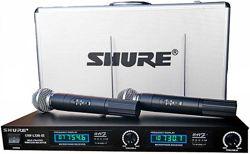 Shure LX88-III 2 радиомикрофона shure sm-58ii цифровые дисплеи