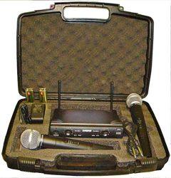 Shure UT4 UHF-2 радиосистема 2микрофона shure sm-58ii