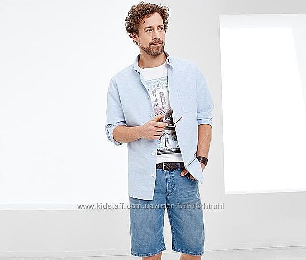 Новые джинсовые шорты Tchibo - р.50