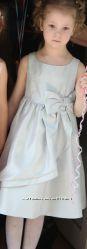 Фирменное нарядное платье GYMBOREE девочке 5-6 лет