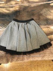 Симпатичная юбочка для школы, 8-9 лет