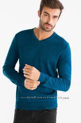 Мужские пуловеры с V-вырезом  C&A Cunda