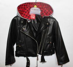 Крутая куртка  косуха  To be Too на 3, 4, 5 лет Италия