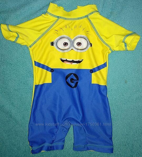 детский гидрокостюм солнцезащитный костюм купальный бассейн плаваньеМиньон