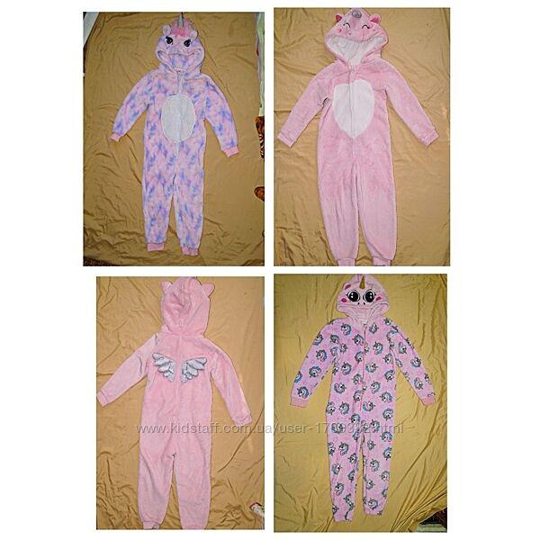 Кигуруми Единорог пижама слип George. Англия. размер 110, 128