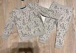 Костюмов george 2-3 года/92-98 см/мальчик, девочка, джоггеры, свитер, худи