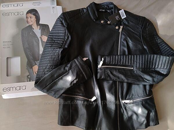Стильная куртка- косуха Esmara euro 38 UK 12