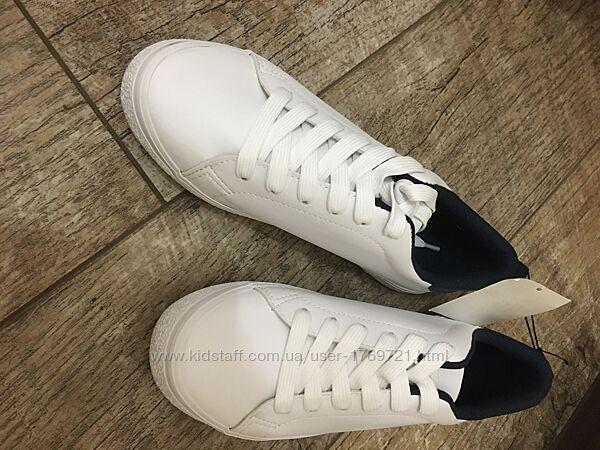 Кроссовки кеды белые H&M