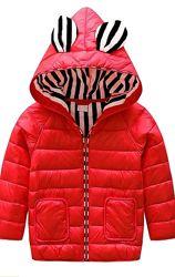Детская демисезонная куртка с утиным пухом
