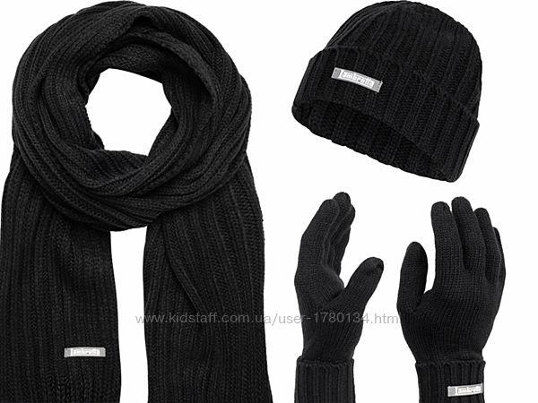 Шапка шарф рукавички набор Lambretta оригинал