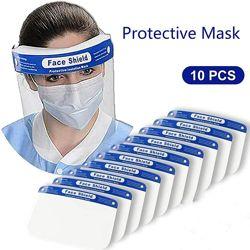 Антивирусный защитный экран для лица пластиковый Face Shield