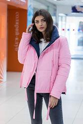 Женская весенняя молодежная куртка на завязках весна осень