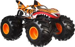Hot Wheels Monster Trucks Tiger . Monster Jam 1 к 24