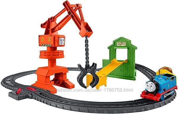 Игровой набор Mattel Томас и друзья кран в порту