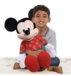 Disney Mickey Mouse 2020 Large Holiday Plush. Большой, мягкий Микки ,56см