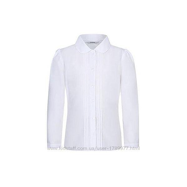 Новая школьная блузка george на 7-8 лет 122-128 см
