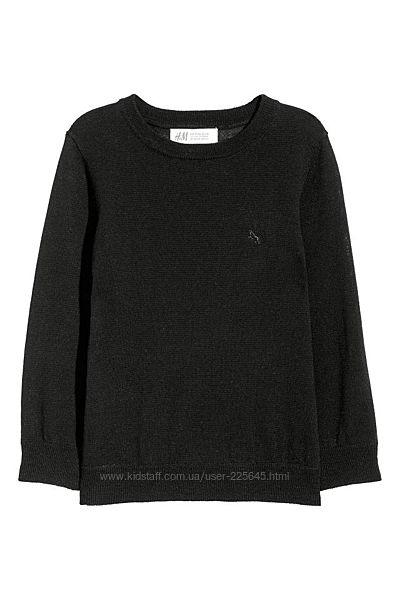Джемпер свитер H&M 8-10лет из шерсти мериноса