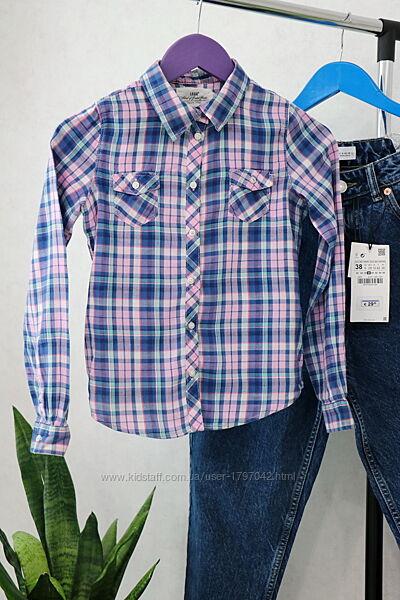 Рубашка на девочку H&M