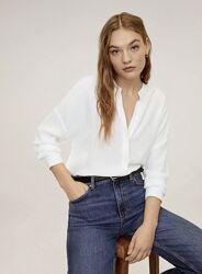 Белая блуза Mango, Размер xs