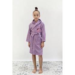 Детские хлопковые халаты от 3 до 16 лет ТМ Lotus
