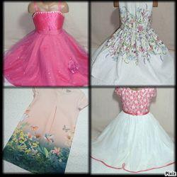 Нарядные и бальные платья для девочек