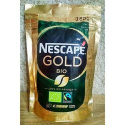 Швейцарский растворимый кофе Nescafe Gold Bio 180g