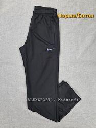 Тонкие спортивные штаны Nike брюки прямые и на манжете есть большие размеры