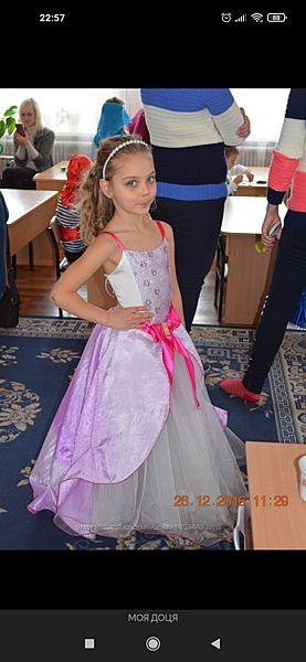Платье для выпускного на 6 - 8 лет