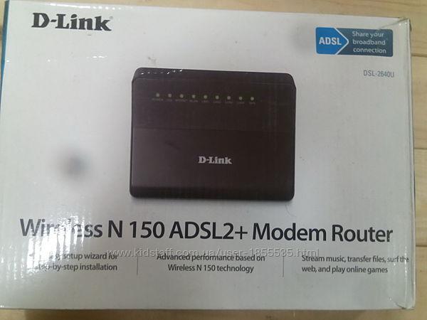 Модем-роутер с wi-fi для Укртелекома D-link dsl-2640u