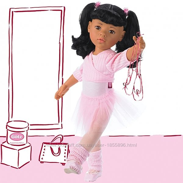Кукла Hannah балерина Gotz, 50см